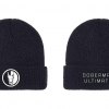 beanie front and back
